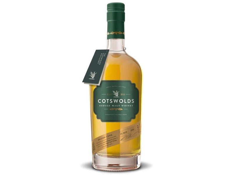 Cotswold Distillery Peated Cask Single Malt Whisky