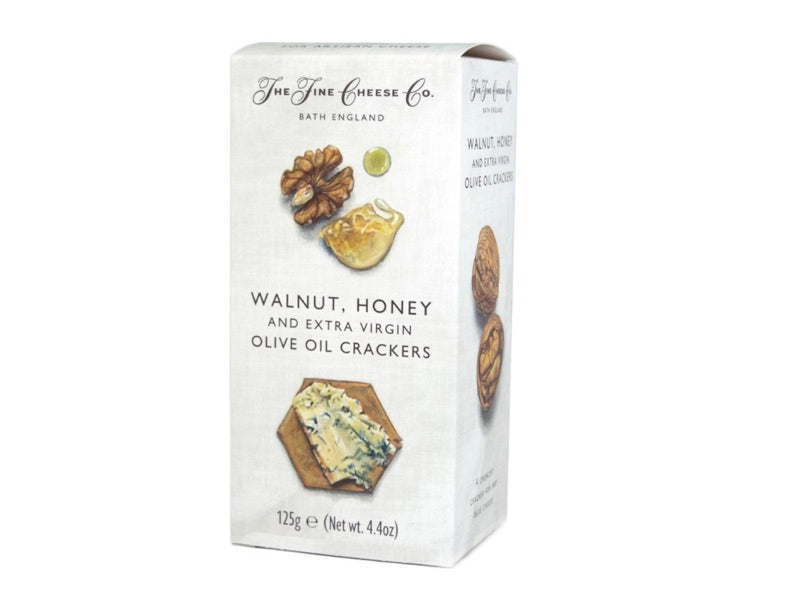 Fine Cheese Co - Walnut, Honey and Extra Virgin Olive Oil Crackers