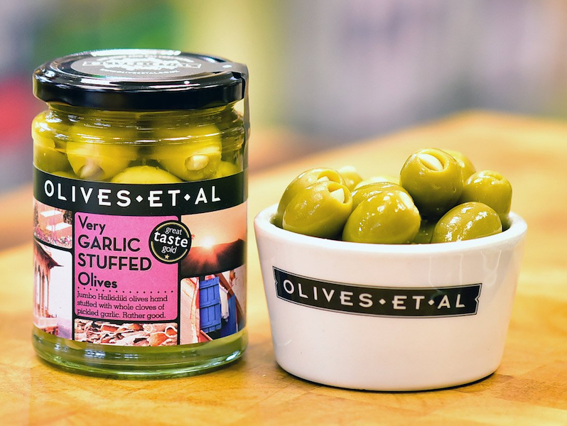 Very Garlic Stuffed Olives – Jar 150g