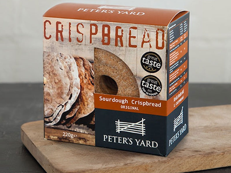 Peters Yard Crispbread 145g