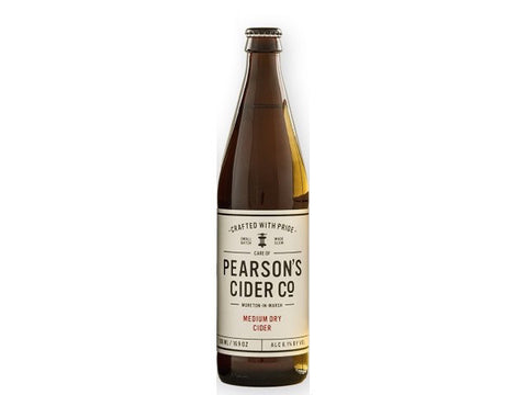 Pearson's Cider Co - Medium Dry Cider 500ml 6.1%