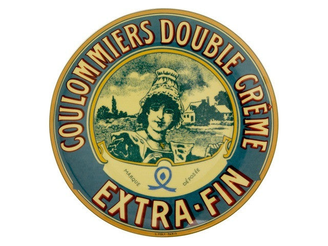 Camembert Plates available from the Cotswold Cheese Company each boast a design of a vintage Camembert cheese label