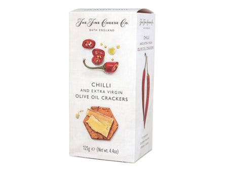 Fine Cheese Co - Chilli and Extra Virgin Olive Oil Crackers