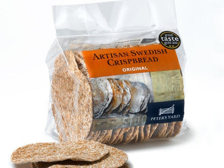 Peter's Yard Swedish Crispbread is available from the Cotswold Cheese Company. A local Cotswolds shop in the heart of the Cotswolds