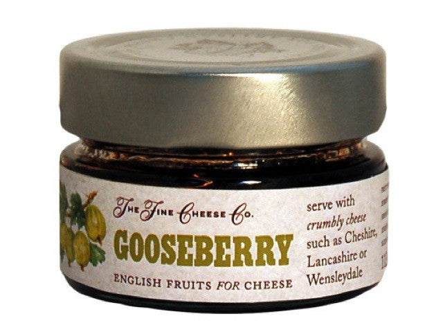 Gooseberry Fruit Purée for Cheese is available from the Cotswold Cheese Company. A local Cotswolds shop in the heart of the Cotswolds