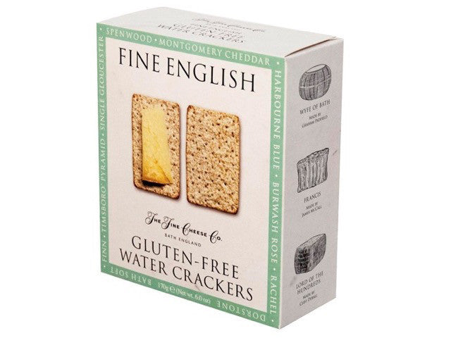 Fine English Gluten Free Water Crackers