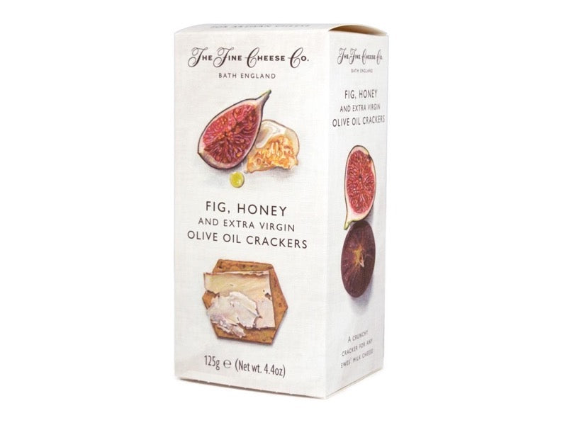 Fine Cheese Co - Fig, Honey and Extra Virgin Olive Oil Crackers