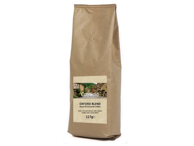 Cotswold Coffee Co Oxford Blend Fresh Ground Coffee 227g