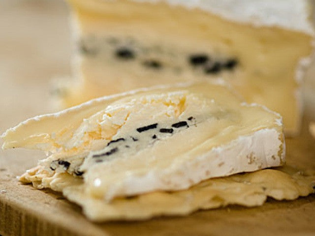 Truffle Brie is available from the Cotswold Cheese Company. A local Cotswolds shop in the heart of the Cotswolds