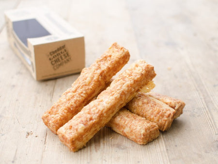Cheddar Gorge Cheese Straws