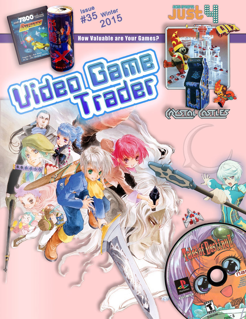 Video Game Trader #35 Now Available in Digital and Print on Demand