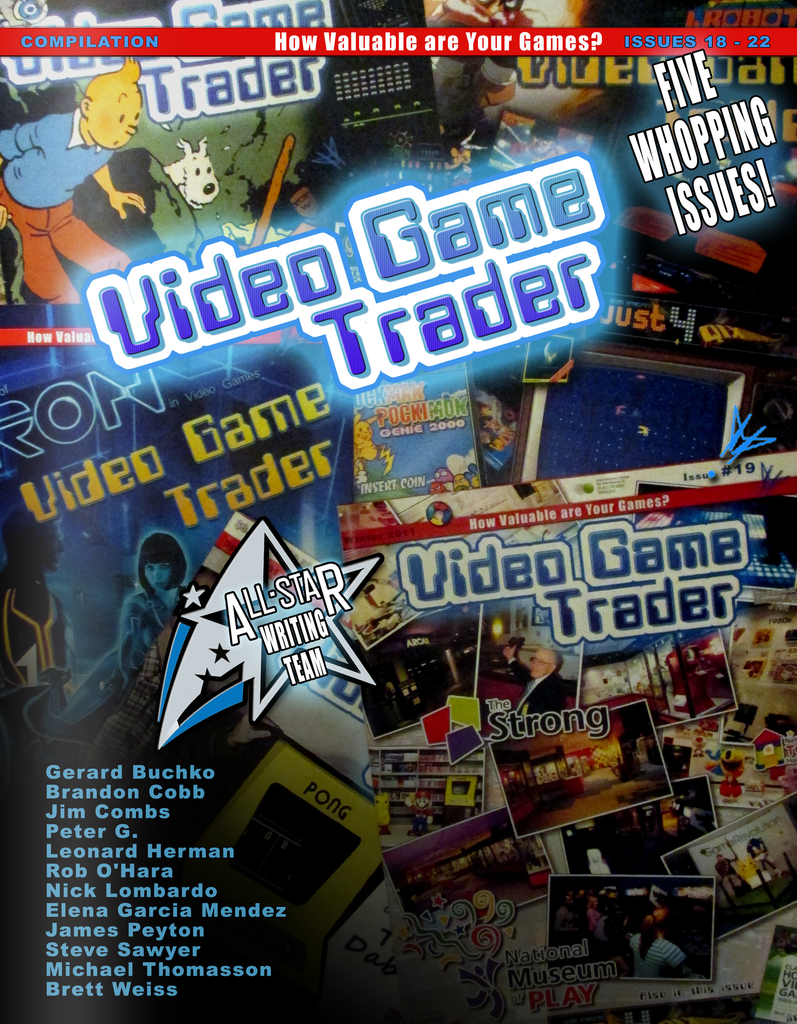 Now Available: Video Game Trader Compilation: Issues 18-22
