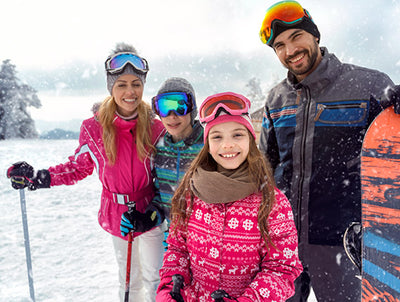 How to Ski with Kids