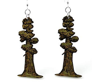 Redwood earring