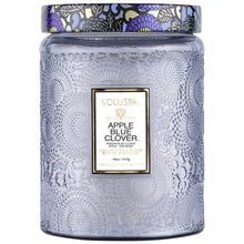 Load image into Gallery viewer, Apple Blue Clover candle