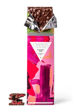 Load image into Gallery viewer, Raspberry Rose Dark Chocolate Bar