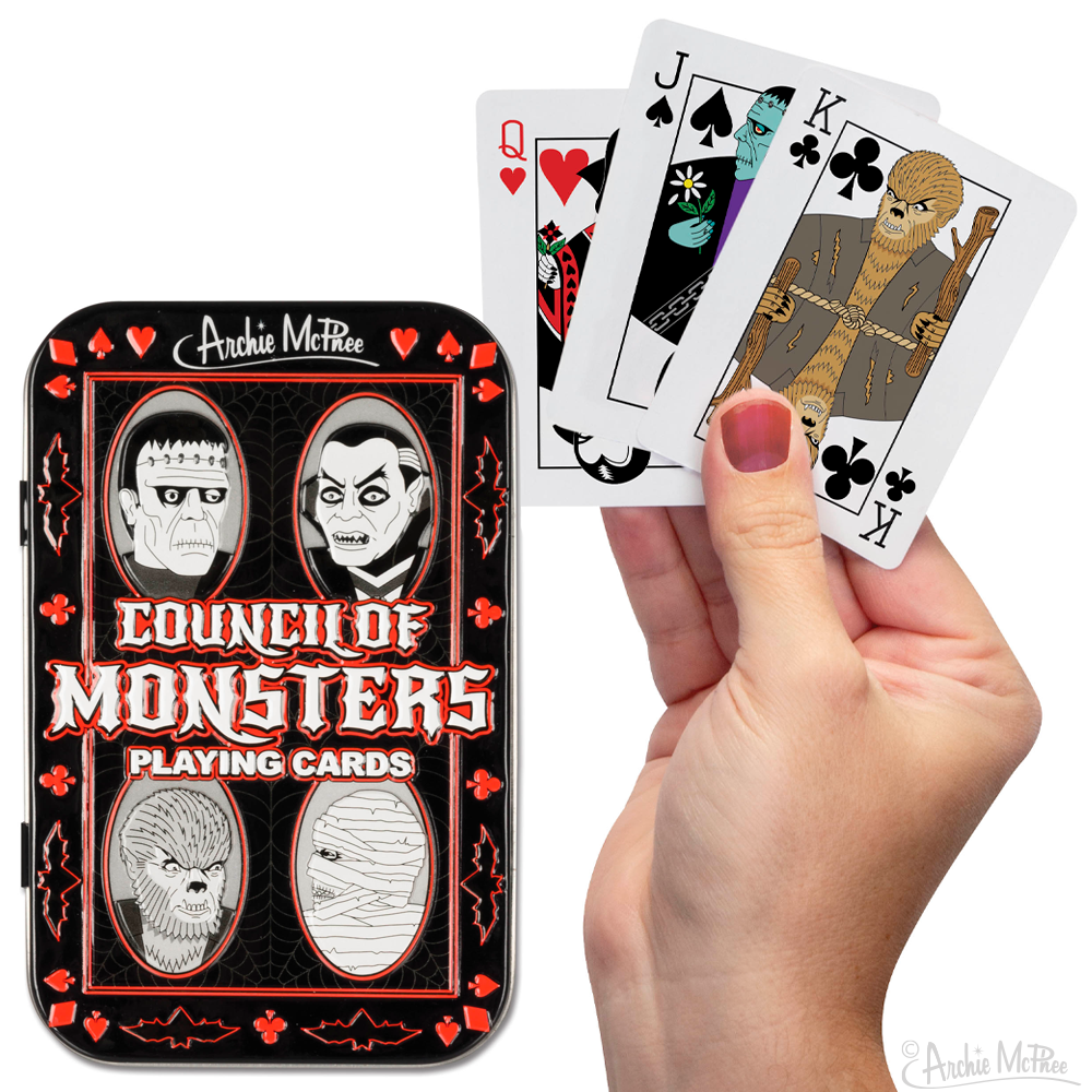 Monsters Playing Cards