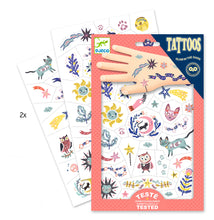 Load image into Gallery viewer, Sweet Dream temporary tattoos