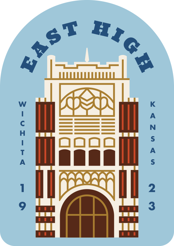 East High Sticker