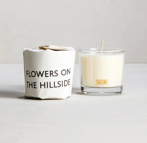 Flowers on the Hillside Candle