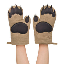 Load image into Gallery viewer, Bear hands oven mitts
