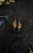 Load image into Gallery viewer, Bee & Laurel Earrings