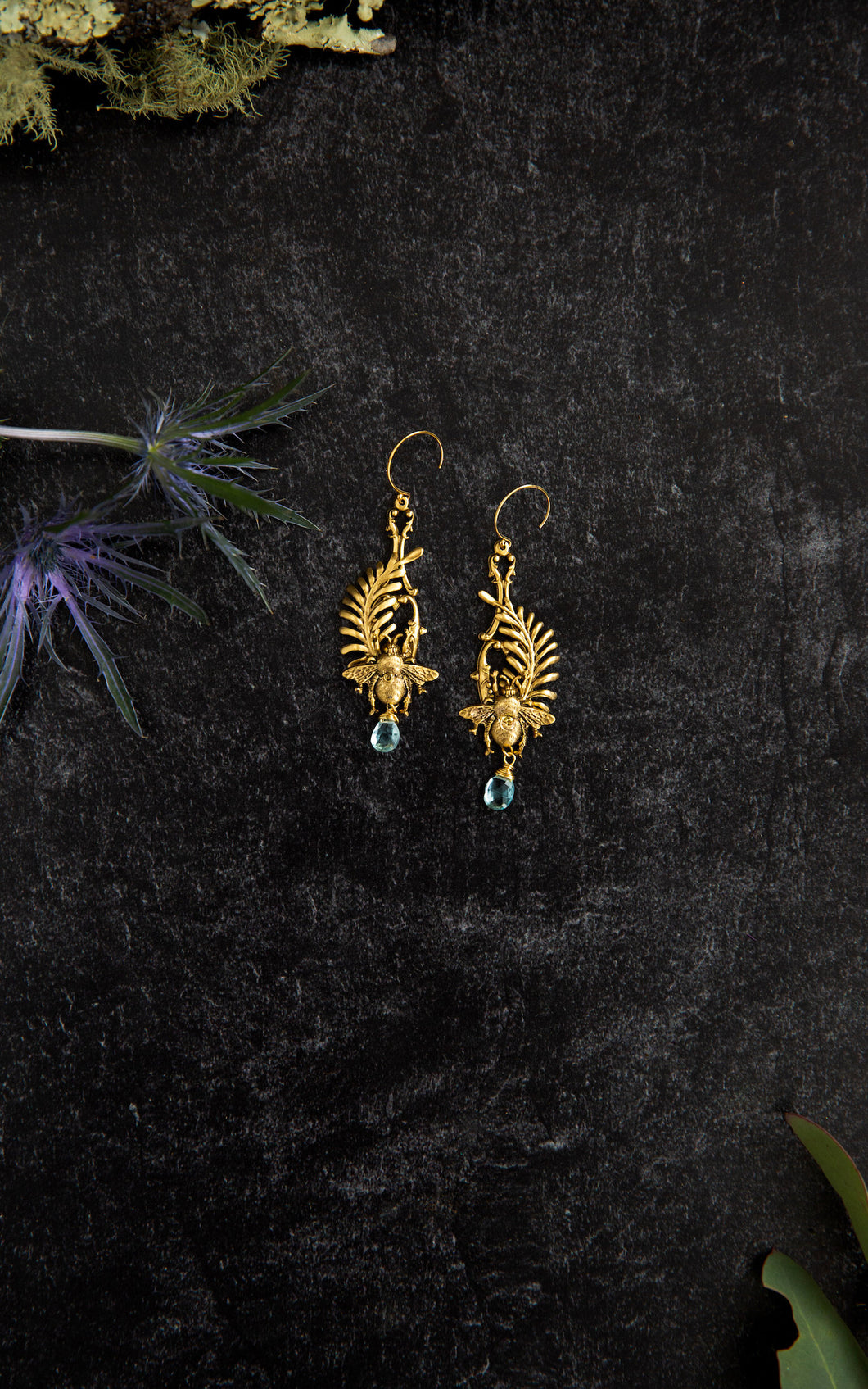 Bee & Laurel Earrings