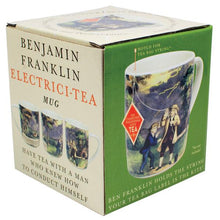 Load image into Gallery viewer, Benjamin Franklin Electrci-tea mug