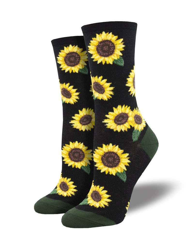 Sunflower women's socks black