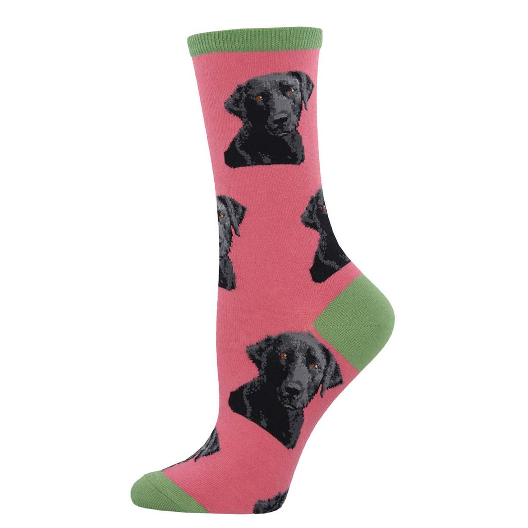 Black lab women's socks