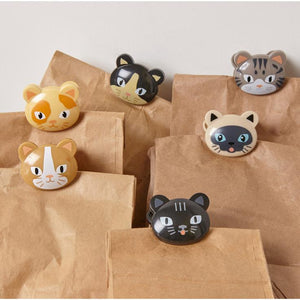 Cat bag clips