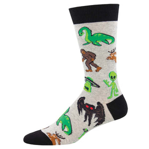 Cryptids men's socks