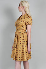 Load image into Gallery viewer, Mustard Diana Dot Dress