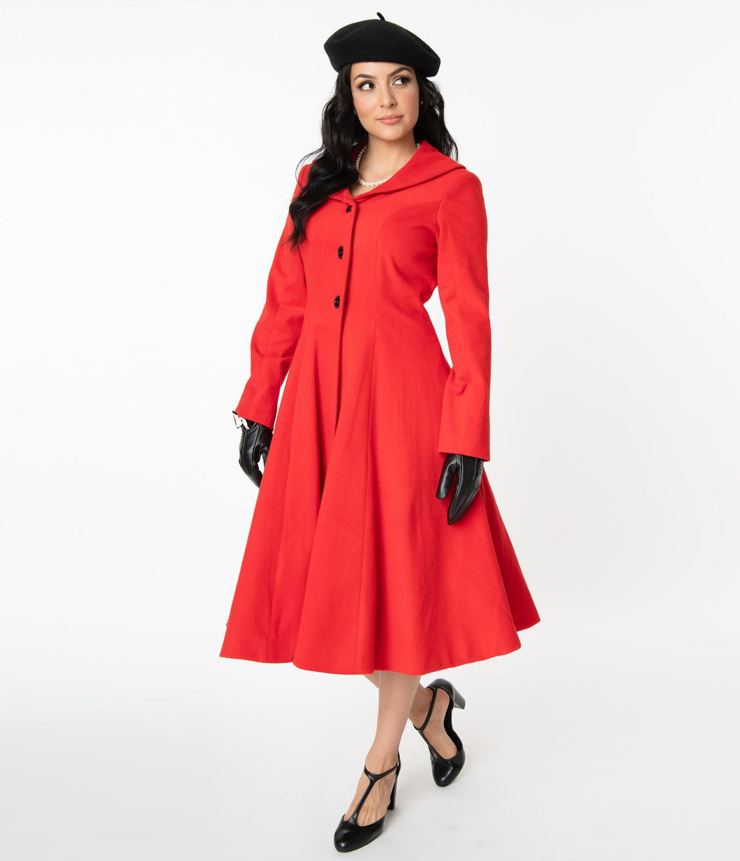 Red Dorian Coat