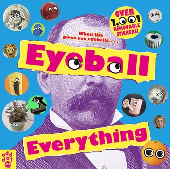 Eyeball Everything sticker book