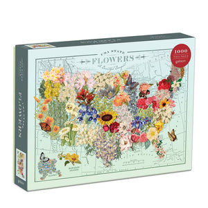 USA State Flower 1000 Pc Puzzle
