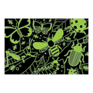 Amazing Insects Glow in the Dark 100 Piece Puzzle