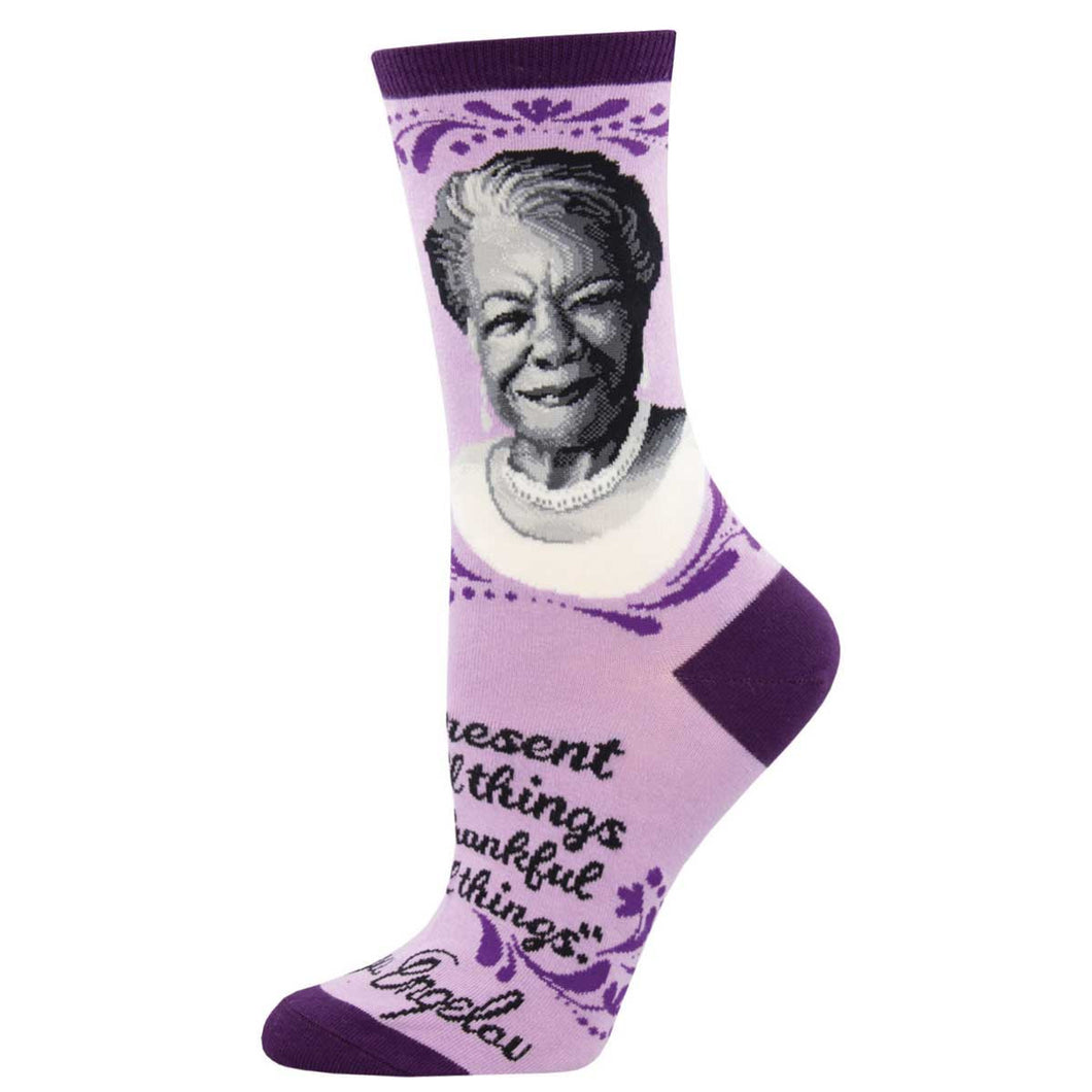 Maya Angelou women's socks