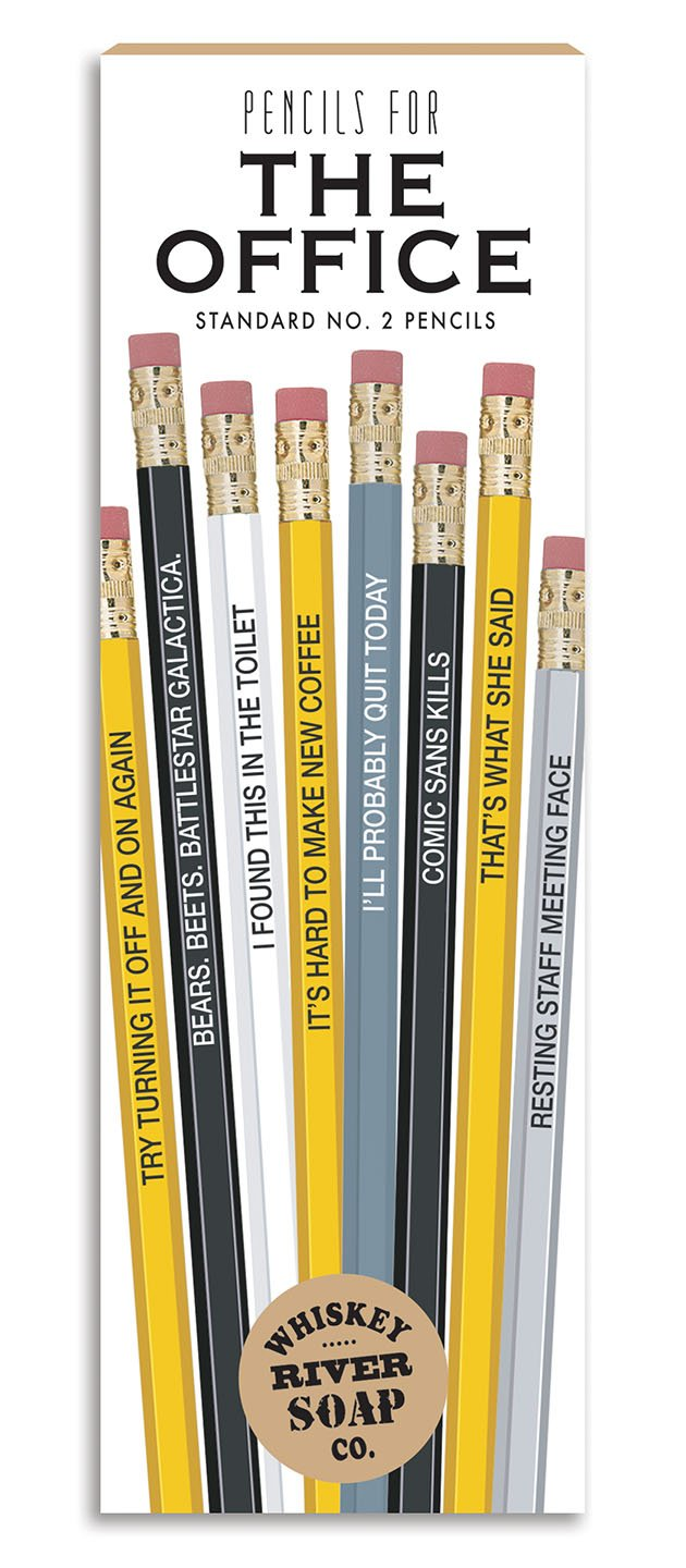 The Office pencils