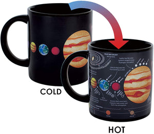 Planet heat changing mug