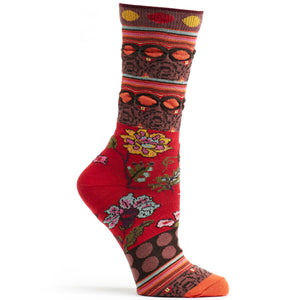 Red Fille Socks