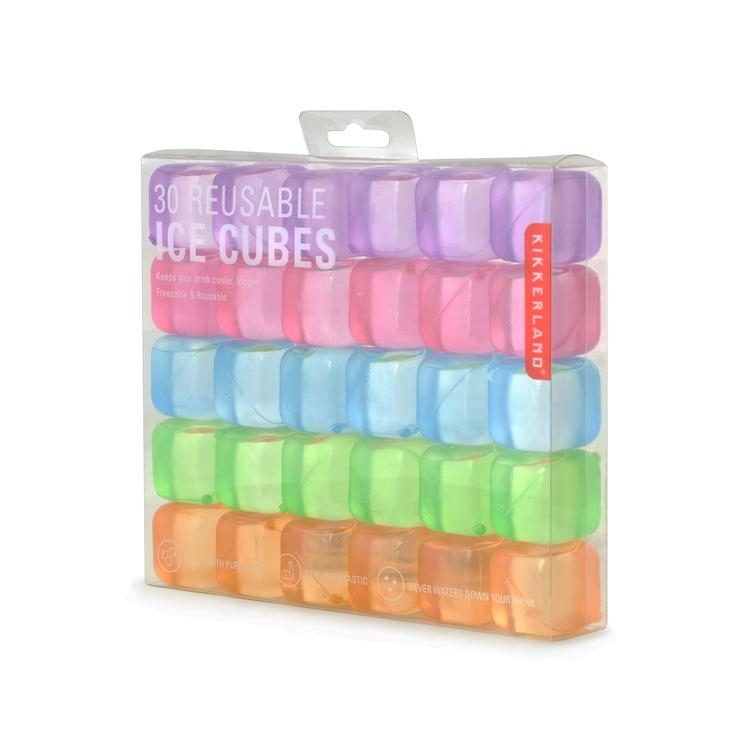 Reusable ice cubes set of 30