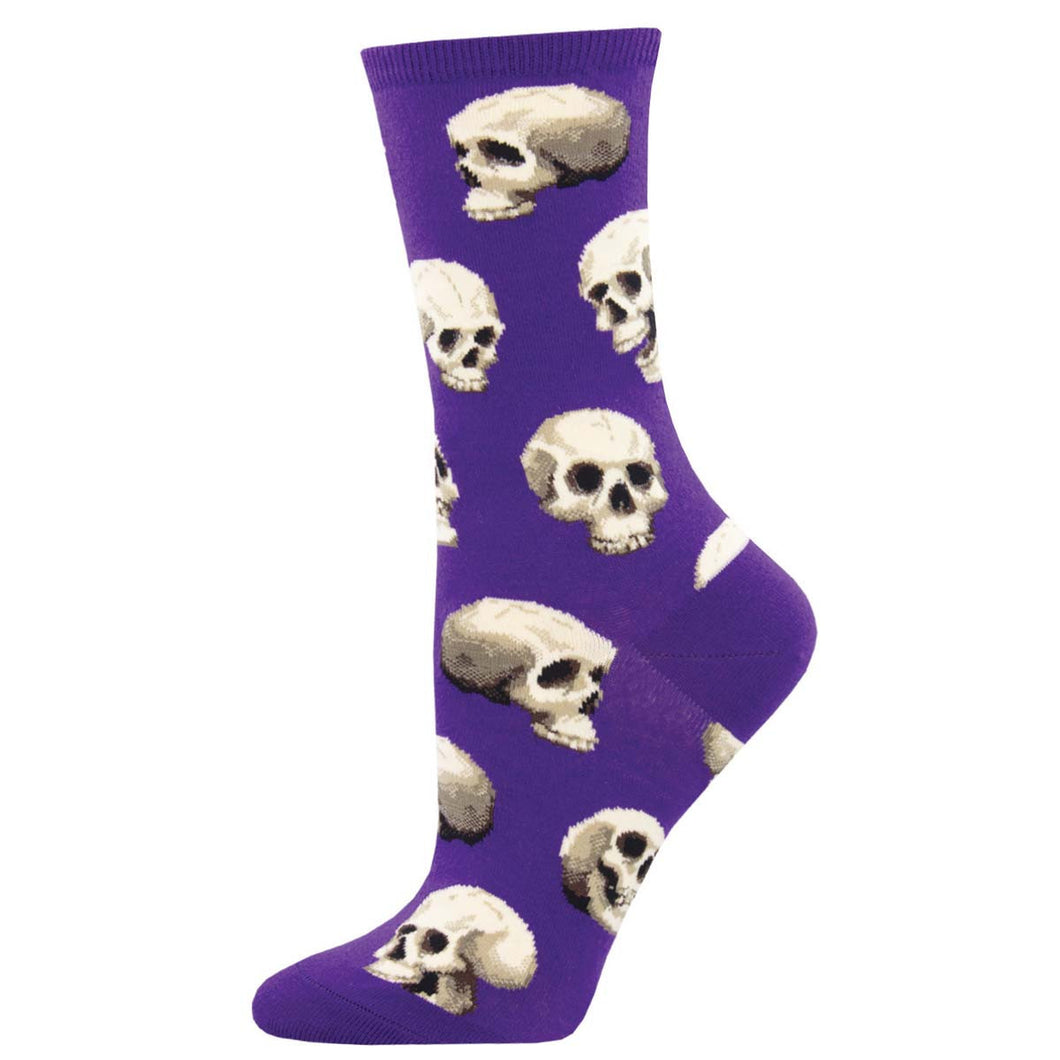 Sacred skull women's socks