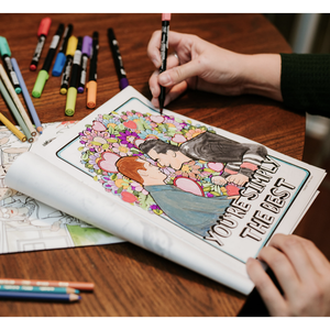 A Very Schitty Coloring Book