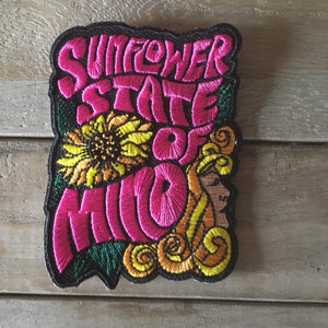 Sunflower state of mind patch