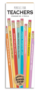 Teachers pencil set
