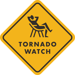Tornado Watch Sticker