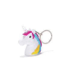 Load image into Gallery viewer, Unicorn LED keychain