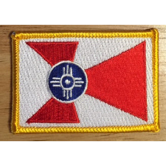 Wichita flag patch