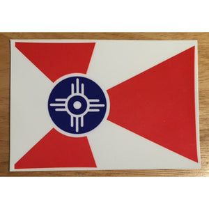 Wichita flag sticker